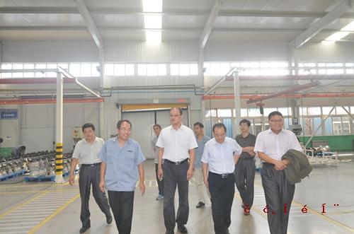 临沂市技术质量监督局副局长张晓兵到公司视察